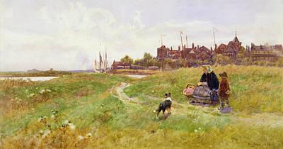 Hastings Painting - Hastings by Thomas James Lloyd