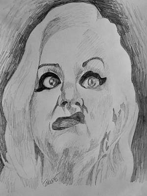 Hatchet Face Original by Jeremy Moore