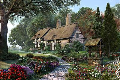 Tudor Digital Art - Hathaway Best by Dominic Davison