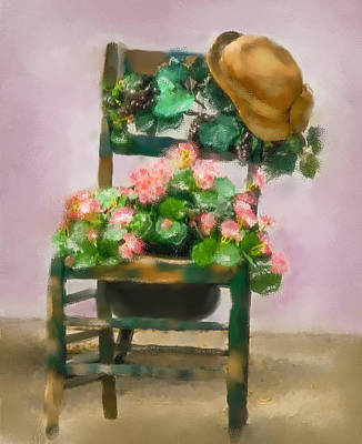 Hats Off Print by Mary Timman