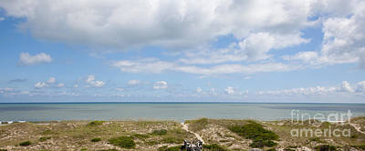 Hatteras Island View Print by Kay Pickens