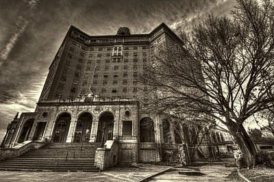 Haunted Baker Hotel Print by Jonathan Davison