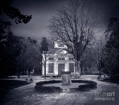 Storm Photograph - Haunted House by Michal Bednarek