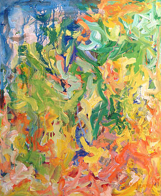 Painting - Have To Move On by Khalid Alzayani