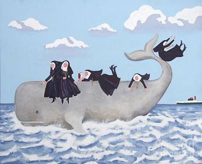 Having A Whale Of A Time Original by Anni Morris