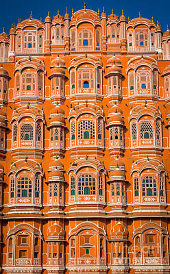 Hawa Mahal Print by Inge Johnsson