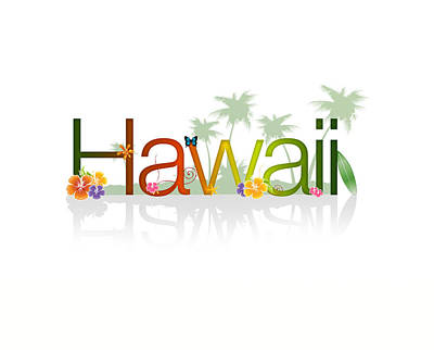 Hawaii Print by Aged Pixel