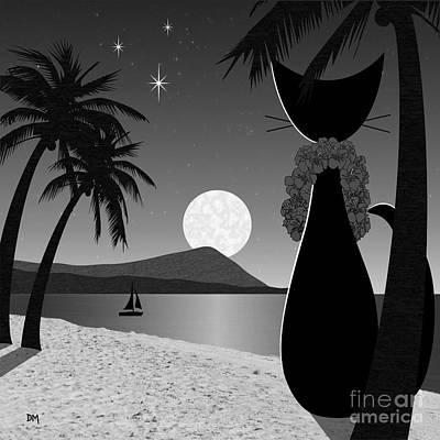 Hawaii Print by Donna Mibus