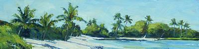 Haleiwa Painting - Hawaii Island Coco Palms by Stacy Vosberg
