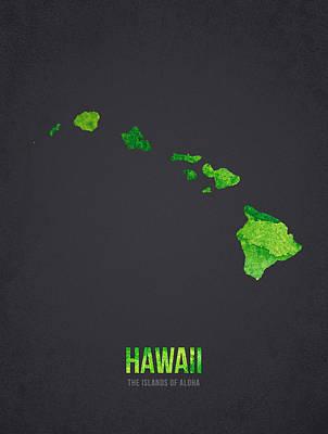 Harbor Digital Art - Hawaii The Islands Of Aloha by Aged Pixel