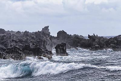 Hawaii Waves V1 Print by Douglas Barnard