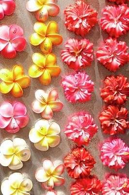 Repetition Photograph - Hawaiian Magnets Display At Market Place by Daisy Gilardini