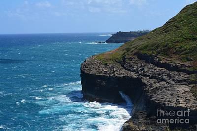Hawaii Photograph - Hawaii's North Most Edge by Greg Cross