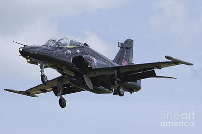 Raf Photograph - Hawk T2 by J Biggadike