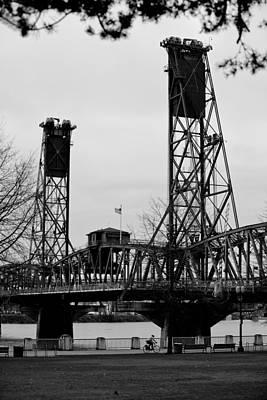 Northwest Photograph - Hawthorne Bridge 1 by Niels Nielsen
