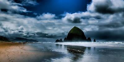 Beach Photograph - Haystack Rock II by David Patterson