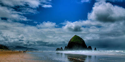 Cannon Beach Photograph - Haystack Rock V by David Patterson