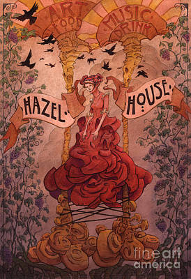 Hazel House Print by Ethan Harris