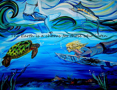 Faith Hope And Love Painting - He Makes All Things New by Amanda Dinan