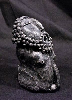Fertility Sculpture - He Onyx by Mark M  Mellon