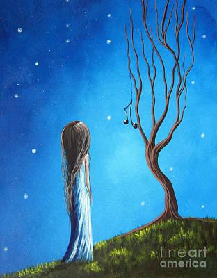 He Still Loves Her By Shawna Erback Print by Shawna Erback
