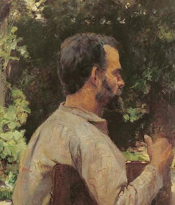 Head Of A Man Print by Henri de Toulouse-Lautrec