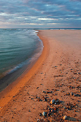 Head Of The Meadow Beach, Cape Cod Print by Jerry and Marcy Monkman