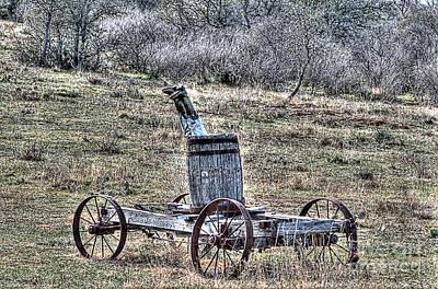 Wagon Photograph - Head Over Heals by Hilton Barlow