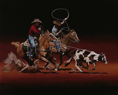 Headin And Heelin Original by Hugh Blanding
