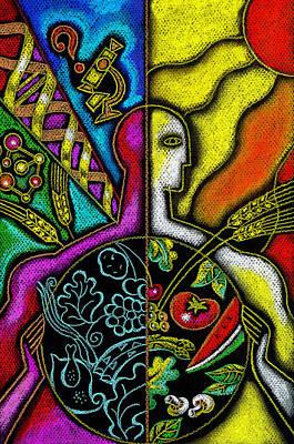 Organic Painting - Health Food by Leon Zernitsky