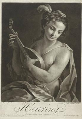 Hearing, Alexander Van Haecken, T. Jefferys Print by Alexander Van Haecken And T. Jefferys And W. Herbert