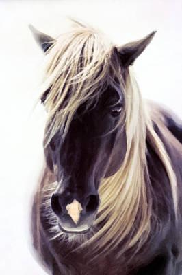 Agriculture Mixed Media - Heart Of A Horse by Georgiana Romanovna
