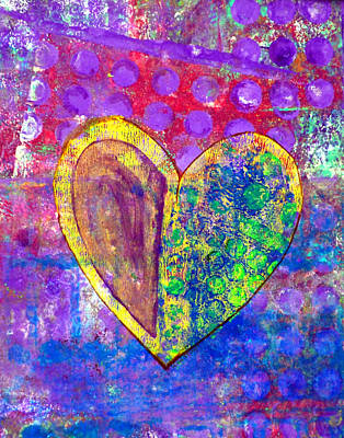 Heart Of Hearts Series - Discovery Print by Moon Stumpp