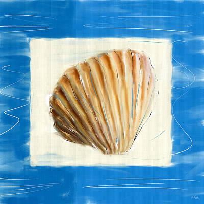 Sea Shells Digital Art - Heart Of The Sea by Lourry Legarde