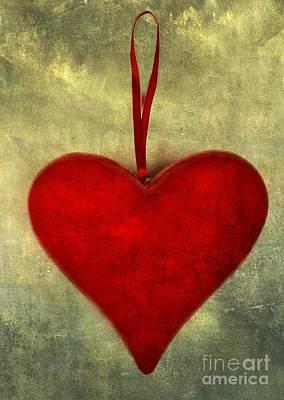 Heart Shape Print by Bernard Jaubert