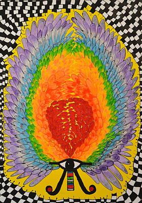 Metaphysical Painting - Heart Wisdom by Callista Summerfield-Berlinghof