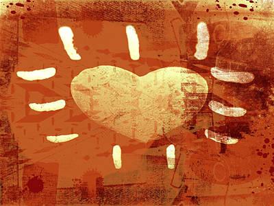 Hearth Print by Modern Art Prints