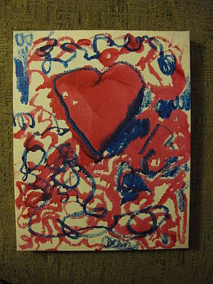 Hearts Entwined Print by Lawrence Christopher