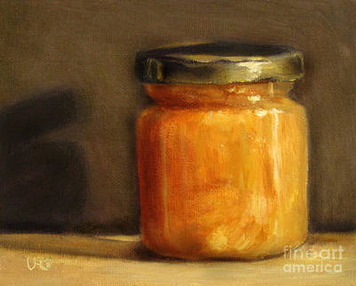 Heather Honey 1 Print by Ulrike Miesen-Schuermann