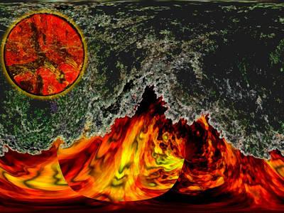 Heatwave Print by Wendy J St Christopher