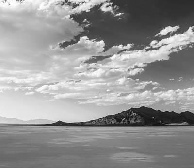 Heaven On The Salt- Bonneville Salt Flats Print by Holly Martin