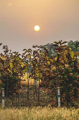 Heavenly Sunset Original by Utkarsh Solanki