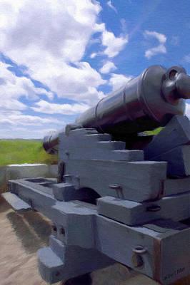 Heavy Artillery Print by Jeff Kolker