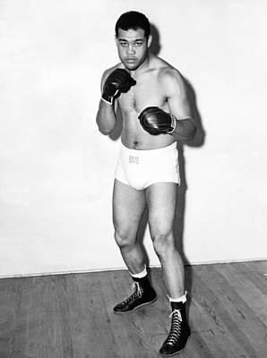 Heavyweight Photograph - Heavyweight Champion Joe Louis by Underwood Archives