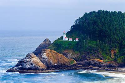 Photograph - Heceta Head Lighthouse 5 by C Steele