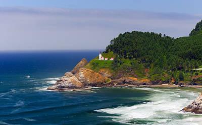 Photograph - Heceta Head Lighthouse 6 by C Steele