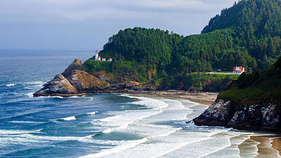 Photograph - Heceta Head Lighthouse  by C Steele