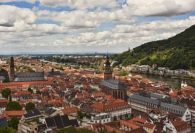 Church Photograph - Heidelberg by Marcia Colelli
