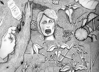 Hands Drawing - Heinz by Dan Twyman