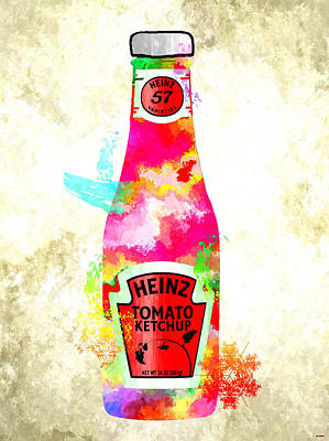 Tomato Mixed Media - Heinz by Daniel Janda